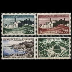 TUNISIA 1956 - Scott# C21-4 Views Set of 4 NH