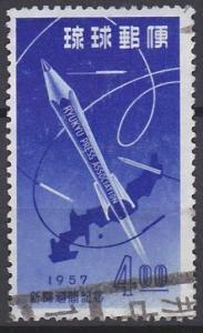 Ryukyu Islands 41 used (1957)
