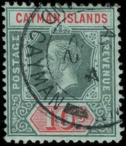 Cayman Islands Scott 32-44 Gibbons 40-52b Used Set of Stamps (1)