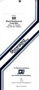 SHOWGARD BLACK MOUNTS 240/68 (10) RETAIL PRICE $11.95