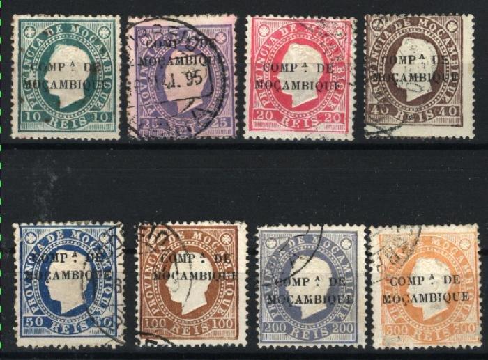 Mozambique Company #2-9   U 1892 PD