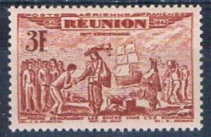 Reunion C13C MNH De Poivre 1943 (R0462)+