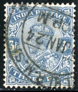 INDIA - SC #80 - USED - 1911 - INDIA006NS3