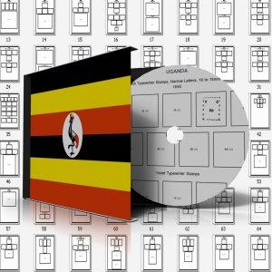 UGANDA STAMP ALBUM PAGES 1895-2011 (477 PDF digital pages)