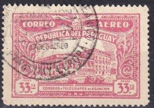 Paraguay #C85  F-VF Used CV $5.25 (Z1556)