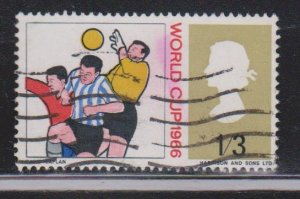 GREAT BRITAIN Scott # 460 Used - World Cup Football