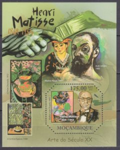 2011 Mozambique 4686/B470 Artist / Henri Matisse 10,00 €
