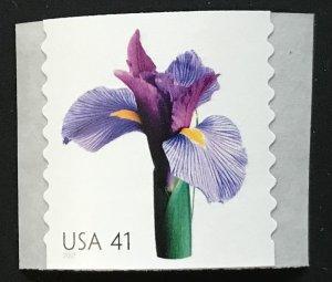 US MNH #4166 Coil Single Iris Beautiful Blooms SCV $2.00