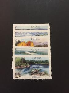 Canada #1511-1515u