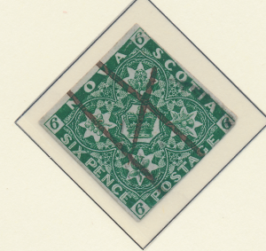 Nova Scotia (Canada) Stamp Scott #5, Used - Free U.S. Shipping, Free Worldwid...