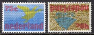 Netherlands 561-562 MNH VF