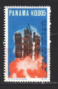 Panama. 1966. 892 from the series. Italian space-San Marco 1. MNH.