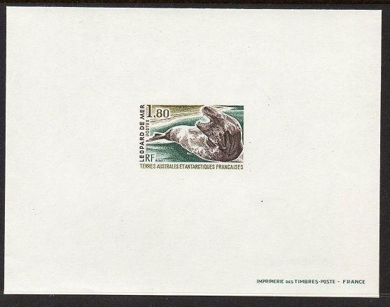FSAT TAAF 1980 Sea Leopard Proof VF MNH (93)
