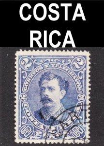 Costa Rica Scott 32 F to VF postally used.