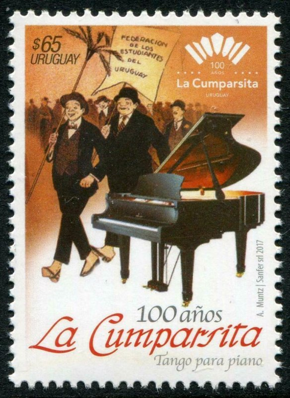 HERRICKSTAMP NEW ISSUES URUGUAY La Cumparsita Music