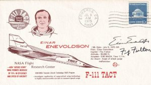 1975, Edwards AFB, F-111 Tact Cover, See Remark (41921)