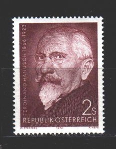 Austria. 1973. 1425. Hanush politician. MNH.