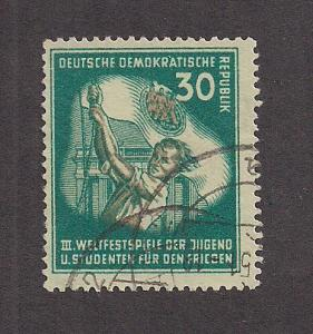 GERMANY - DDR SC# 87 F-VF U 1951