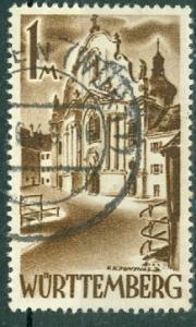 Germany - French Occupation - Wurttemberg - Scott 8N13