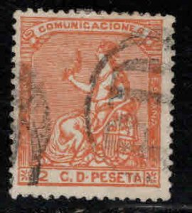 Spain Scott 191 Used PD cancel, nice color and centering