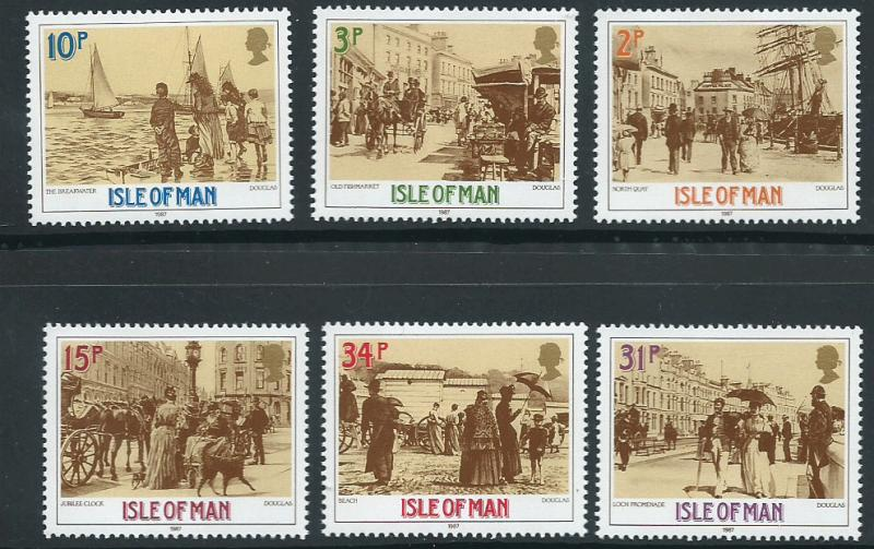 Isle of Man MUH SG 334 - 339