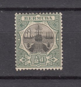 J26611 JLstamps 1902-3  bermuda mh #28 wmk 2 dry dock