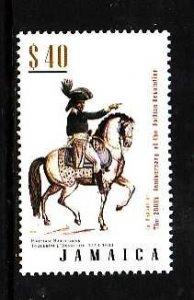 Jamaica-Sc#983-Unused NH set-Haitian Revolution-Horses-2004-