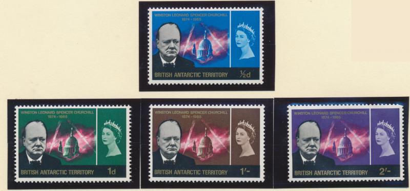 British Antarctic Territory (B.A.T.) Stamps Scott #16 To 19, Mint Never Hinge...