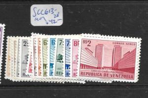 VENEZUELA  (PP2407B)  SC C613-628   MOG