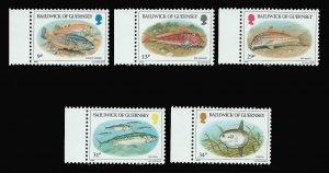 GUERNSEY 308-312 MNH