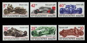 Bulgaria Scott 3223-3228 Mint never hinged.