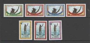 HAITI #803-809  1985 ARRIVAL OF EUROPEANS IN AMERICA      MINT VF NH  O.G