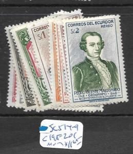 ECUADOR  (P1707B)   SC  514-9  , C 195-201   MOG