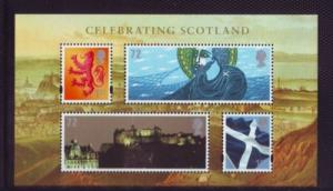 Great Britain Sc 2419 2006 Celebrating Scotland stamp sheet mint  NH