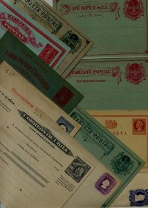 Chile 10 unused cards/covers pre-1900 (4)