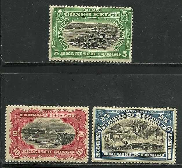 Belgium Congo # 60-2, Mint Hinge Remain