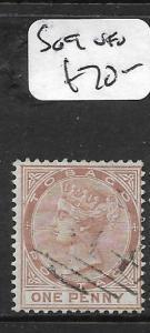 TOBAGO   (PP0810B) QV 1D  SG 9  VFU