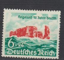 Germany - 1940 Helgoland Sc# B176 - MH (9118)