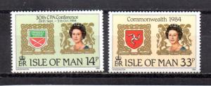 Isle of Man 272-273 MNH