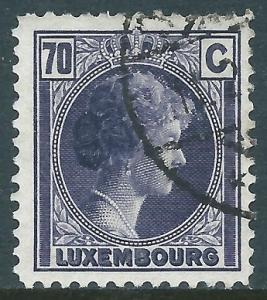 Luxembourg, Sc #173, 70c Used