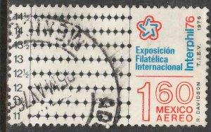 MEXICO C521 International Philatelic Exhib Philadelphia USED. F-VF. (1339)