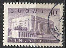 Finland; 1956: Sc. # 337: O/Used Single Stamp