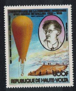 Upper Volta Auguste Piccard Manned Flight 1c 1983 MNH SG#MS658
