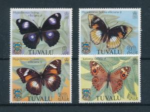 [98903] Tuvalu 1981 Insects Butterflies  MNH