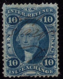 US Sc R36 Used Signature Cancel VF