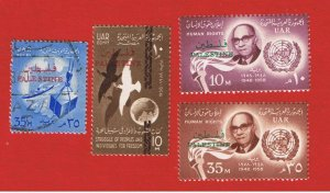 Egypt #N68-N71  MVFLH OG  Occupation Stamps     Free S/H