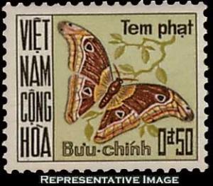 Vietnam Scott J15 Unused lightly hinged.