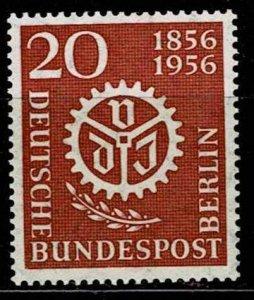 Berlin 1956, Scott# 9N141 MNH cv 4.50