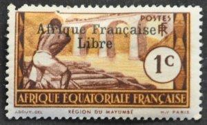 French Equatorial Africa Scott #133 – MINT hr