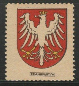 Frankfurt Cinderella Poster Stamp Reklamemarken A7P4F797